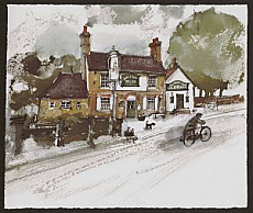 Brenchley - The Halfway House